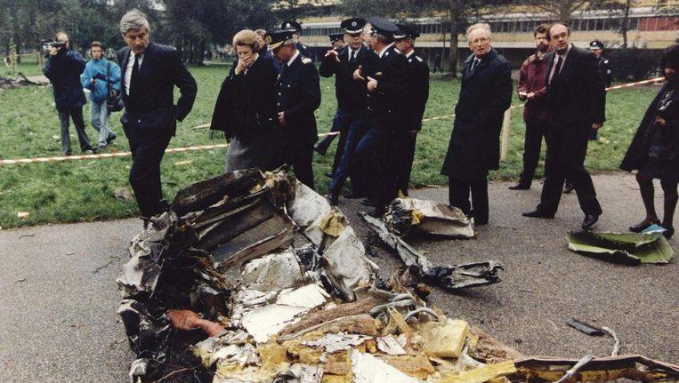 In 1992 lukte het de bemanning niet het vliegtuig veilig op de grond te zetten. Het kón de bemanning toen ook niet lukken, concludeerde het onderzoeksrapport over de ramp Beeld anp