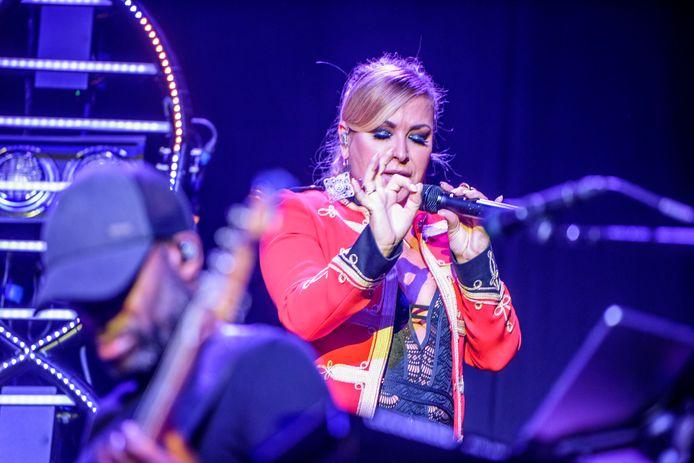 Anastacia in Poppodium 013. Tijdens dit concert had nog niemand van het coronavirus gehoord.