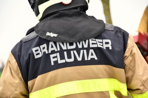 De brandweer van de zone Fluvia was de frietpotbrand in een handomdraai meester.