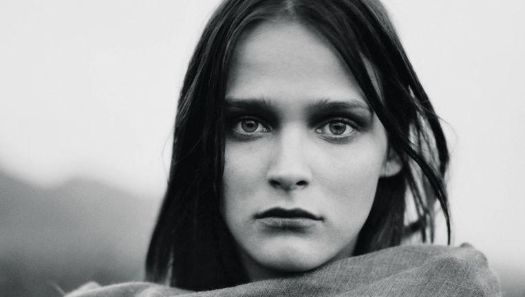 Model Carmen Kass, 1998 Beeld Jan Welters