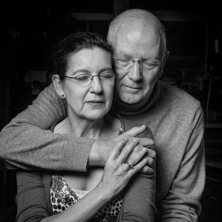 Carmen Cobos en haar man Kees Rijninks. Beeld Jorgen Caris