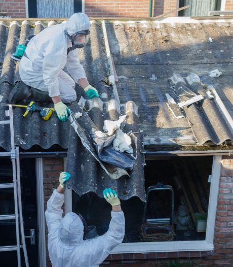Steeds minder asbestdaken opgeruimd