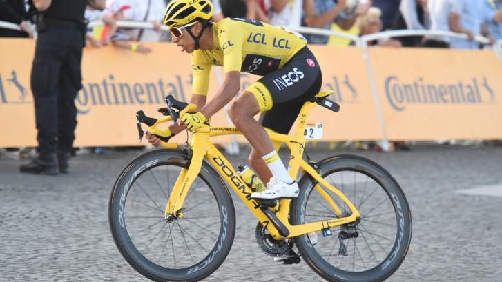 Bernal maakt dankzij Tour-winst flinke sprong op wereldranglijst