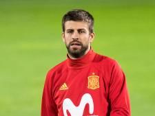 Piqué grote afwezige bij Spanje
