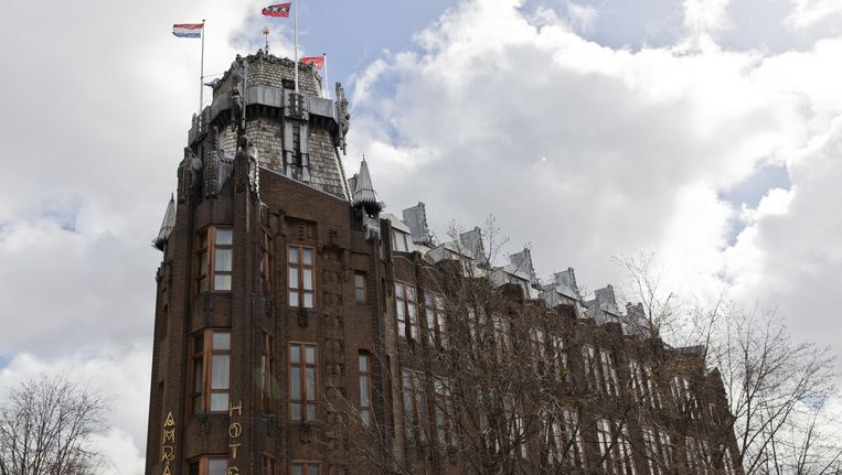 Het Scheepvaarthuis / Grand Hotel Amrâth aan de Prins Hendrikkade Beeld Roy Del Vecchio