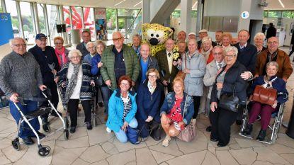 Diamanten jubilarissen uitgenodigd in Atomium