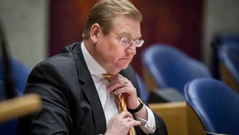 Minister Ard van der Steur van Justitie in december vorig jaar. Beeld anp