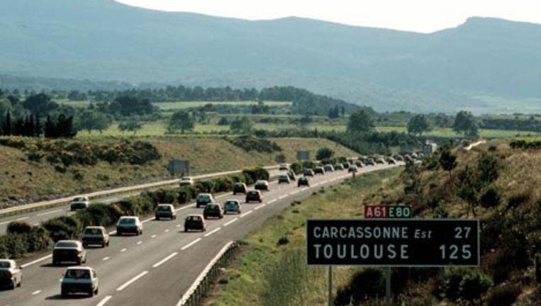 Zaterdag 31 juli is het de traditioneel drukste dag op de Europese snelwegen. Veel mensen komen terug van vakantie en veel mensen gaan juist net weg. Foto GPD Beeld