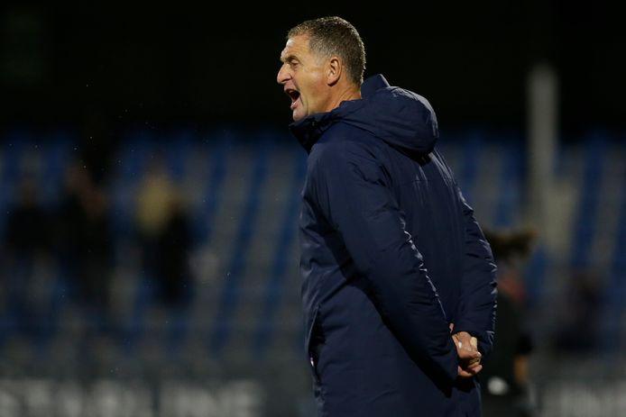 Ernie Brandts, trainer van FC Eindhoven