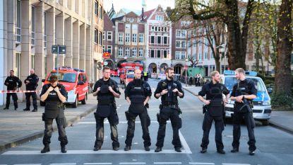 Münster is veranderd in een oorlogsgebied