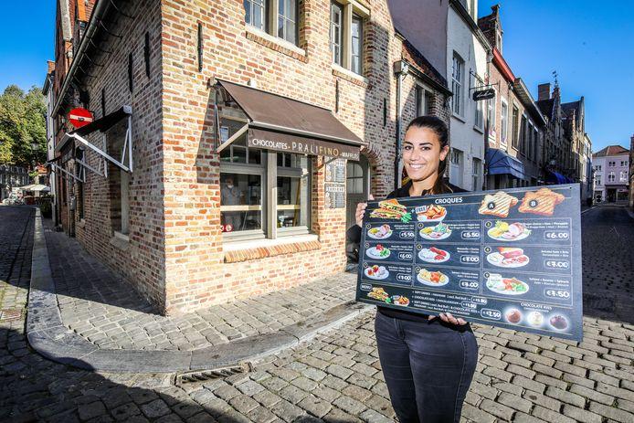 Lotte Van Steenkiste begint Pralifino in de Wijngaardstraat 16.