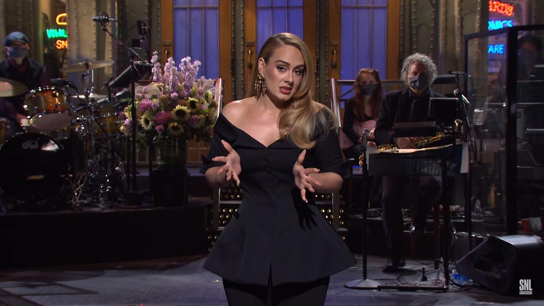 Adele in 'SNL' Beeld SNL