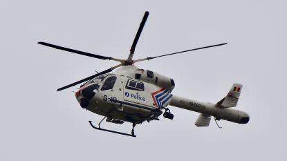 Politie klist verdachte na zoektocht met helikopter en speurhond