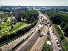 Nieuwe geluidsschermen langs de N3 bij Papendrecht om overlast voor bewoners te verminderen