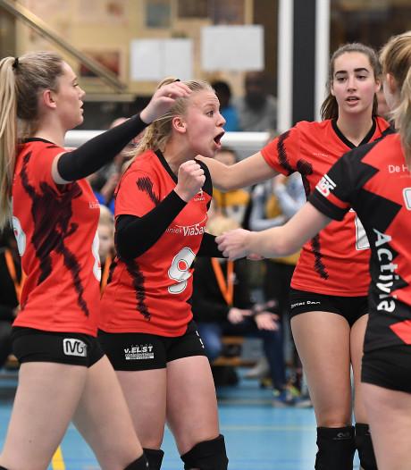 Volleybalsters Activia staan tegen aartsrivaal Havoc voor loodzware opgave