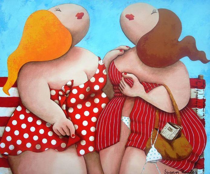Verbazingwekkend Voluptueuze dames te zien bij Van Bellen Art | Moerdijk | bndestem.nl OH-84