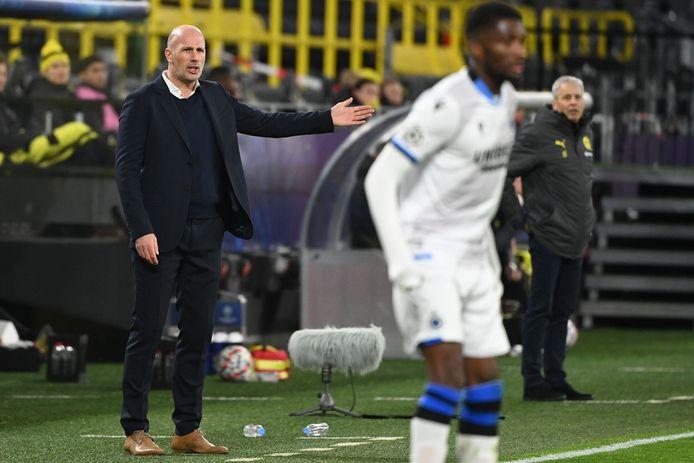 Philippe Clement fataliste après la défaite de Bruges à Dortmund.