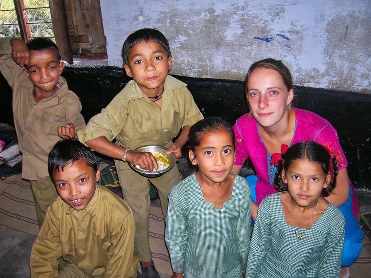 Daisy in India. Beeld RV