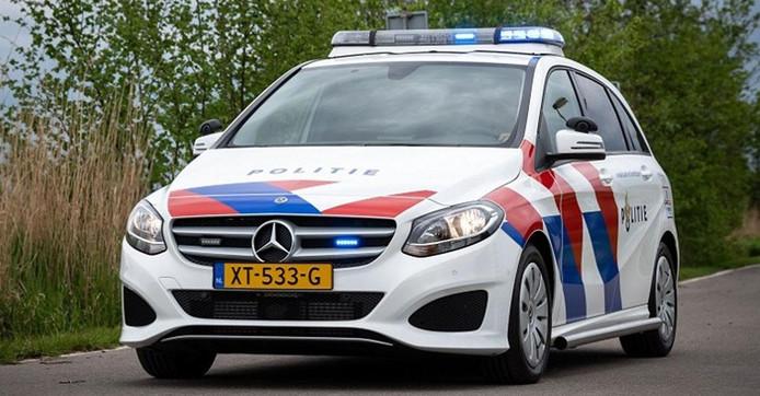 Mercedes-Benz B-Klasse politievoertuig.