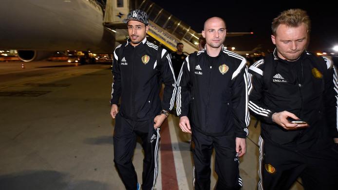 Nacer Chadli et Laurent Ciman sont de retour en équipe nationale.