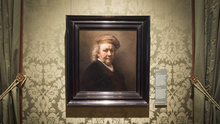 Rembrandt op een zelfportret. Beeld anp