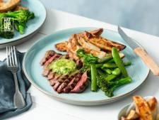 Wat Eten We Vandaag: Steak met zelfgemaakte kruidenboter