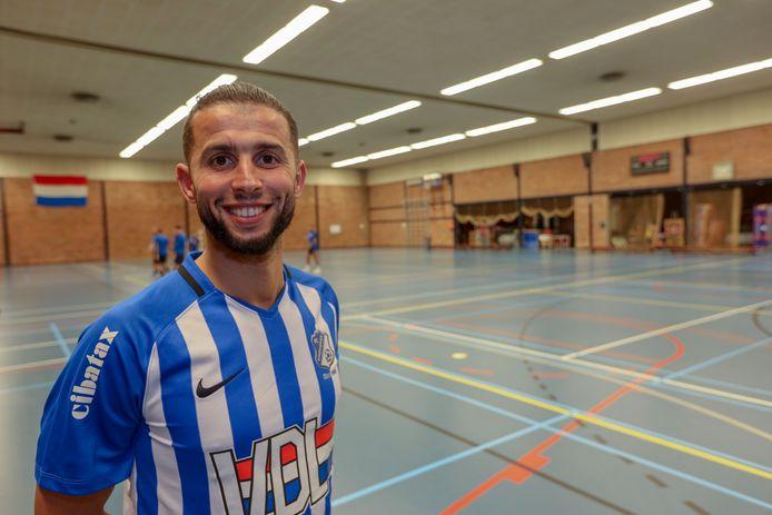 Bilal Achenteh van FC Eindhoven.
