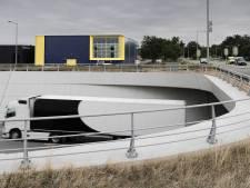 Het geel en blauw van Allsafe doet menig Ossenaar aan IKEA denken