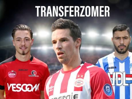 Transferzomer in Brabant: wie blijft, wie gaat?