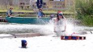 """Stad en politie waarschuwen: """"Ga niet zwemmen in de Donkvijver!"""""""