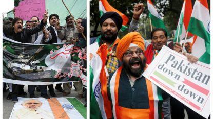 Op Twitter is het al oorlog tussen Pakistan en India