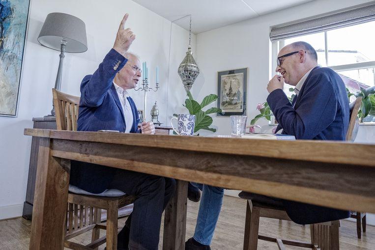 Bert Keizer en Stijn Fens. Beeld Patrick Post