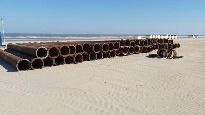 Strand De Panne krijgt na drie jaar nog eens extra zand opgespoten