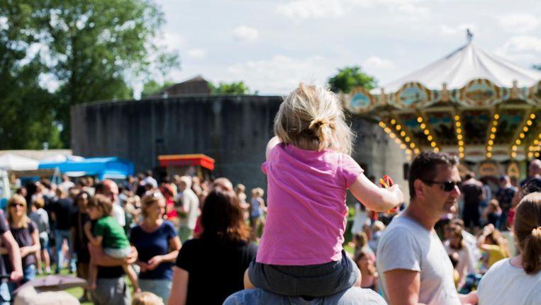 Feest bij de forten rondom Amsterdam Beeld Fortenfestival