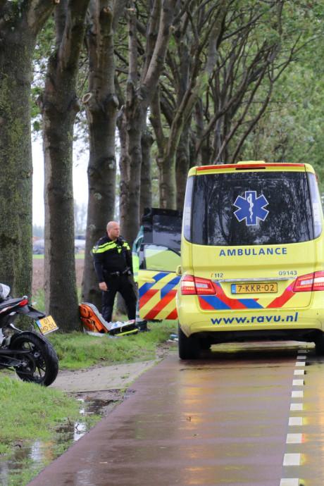 Motorrijder (19) overleden na eenzijdig ongeval in Harmelen