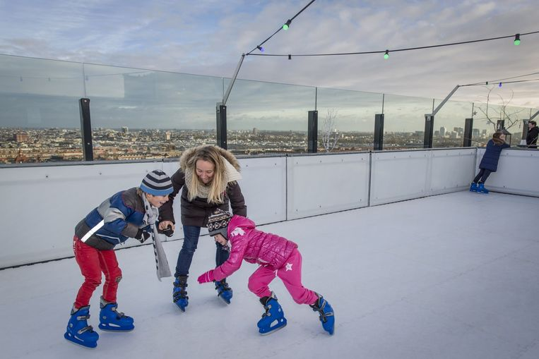 Afbeeldingsresultaat voor kunststof schaatsbaan huren