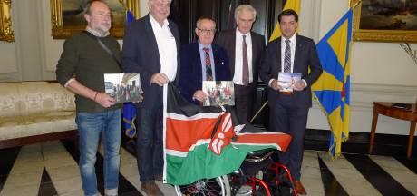 Voetbaltruitjes van Zulte Waregem en Cercle Brugge naar Kenia