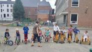 Kinderen rijden eigen Tour de France
