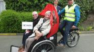 Adrien en Denise testen eerste 'riksja'-fiets uit