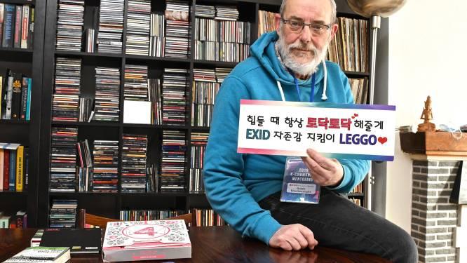 Als medeoprichter van K-Pop Belgium Society bewijst Guido (65) dat K-pop niet enkel voor tieners is