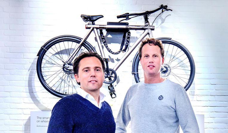 Oprichters Taco en Ties Carlier. Beeld Raymond Rutting / de Volkskrant