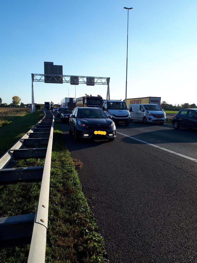 In korte tijd werden 38 automobilisten betrapt.