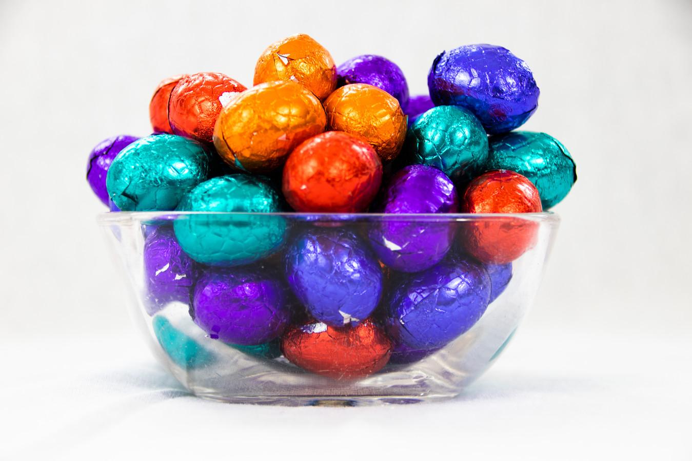 Pasen! alom bekend om de heerlijke chocolaatjes