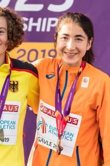 Jasmijn Lau uit Velp pakt bij EK Onder 23 brons op 10 kilometer, Benthe König strandt