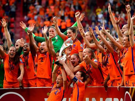 Oranje Leeuwinnen schrijven historie met Europese titel