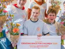Interactieve oefenwanden Reggesteyn Rijssen en Stork College Hengelo in finale Vakkanjers