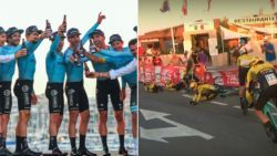 Astana klopt Deceuninck in Vuelta: Lopez eerste leider, Jumbo-Visma grote verliezer na veelbesproken val