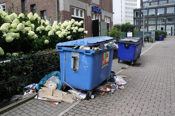 De mysterieuze container aan de Veemarktstraat.
