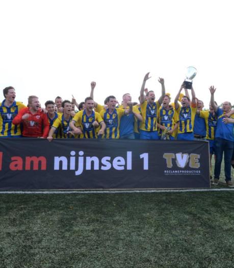 Overzicht | EFC wint met 14-0 van Gestel, Nijnsel wint veertiende wedstrijd op rij en pakt titel