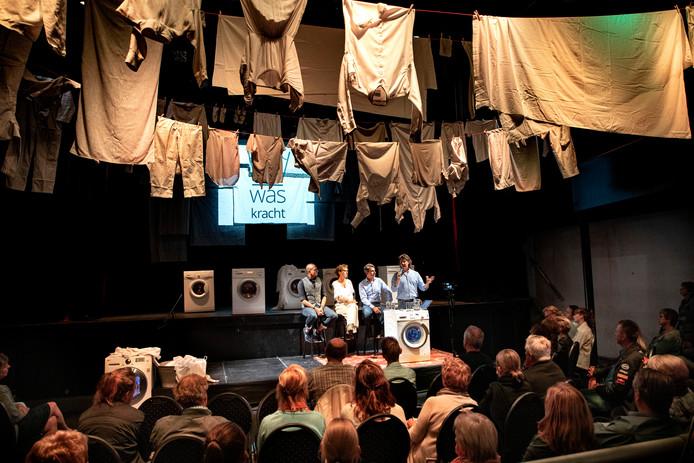 Aftrap theaterproject 'Waskracht'.